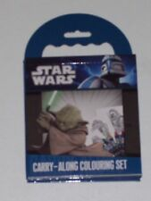 STAR WARS CARRY ALONG COLOURING SET