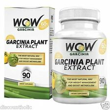 Wow Garcinia Cambogia - 800 mg - 90 Veg Capsules