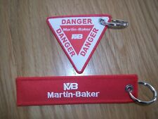 MARTIN BAKER (MB) EJECTION SEAT KEYRINGS  KEY CHAINS  X2 UK SELLER FREE P+P.