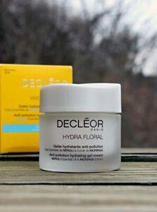Decleor Hydra Floral Anti- Pollution Hydrating Gel Cream 1.7oz New in Box