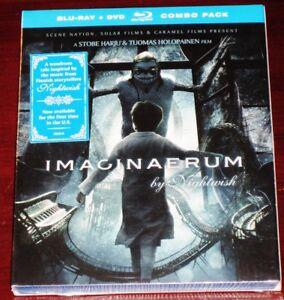Nightwish: Imaginaerum Blu-ray BR + DVD 2 Disc Set 2015 Nuclear Blast USA NEW