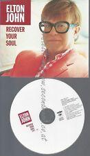 CD--PROMO--ELTON JOHN--RECOVER YOUR SOUL