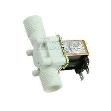 """1/2"""" 12V Electric Solenoid Valve Magnetic DC N/C Water Inlet Flow Switch New"""