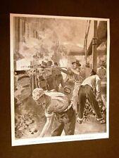 Torino nel 1902 Sciopero dei gasisti Avventizi caricano le scorte