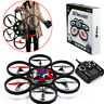WL V323 Headless RC Quadcopter 2.4Ghz 4CH 6-axis Gyro Drone Large Size UFO MT