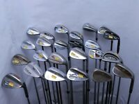 Lot of 24 Golf Club Wedges Callaway Mizuno Cleveland Titleist MSRP $2500