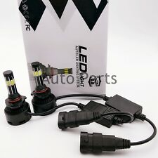 Pair 9006 8-Side LED 480W 48000LM Headlight Conversion Kit Beam Bulbs 6000K 2pcs