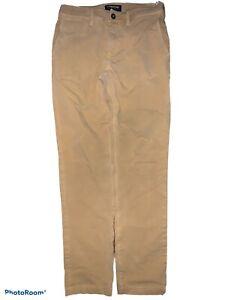 American Eagle Mens Sz 29x32 360 Extreme Flex Slim Beige Khaki Chino Pants C12