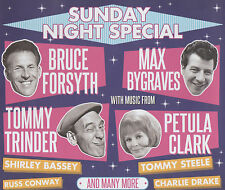 SUNDAY NIGHT SPECIAL - SHIRLEY BASSEY / BRUCE FORSYTH ETC.- 3 CD FATBOX SET