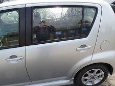 Daihatsu Sirion [M3] 1.3 Tür hinten links ohne Anbauteile Grau S28