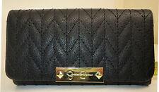 Jessica Simpson- Womans Slim Black Wallet