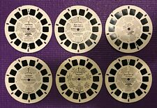 Lot of 6 miscellaneous Viewmaster reels Gunsmoke, Tom Sawyer, ADAM-12