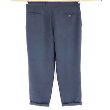 Dockers 38x30 Black Golf Pants Dress Casual Pleated Cuffed Lightweight NICE