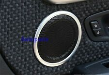 Matt Chrome Door Speaker Sound cover trim ring BMW X1 F48 2016 2017