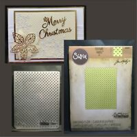 Tiny Dots embossing folder - Sizzix Tim Holtz embossing folders All Occasion
