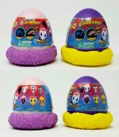 Mashems CRACKEMS Unicorn Surprise Egg Lot of 4 Series 1 NEW SEALED