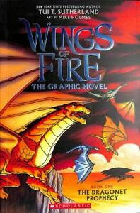A Graphix Book: Wings of Fire Graphic Novel #1: The Dragonet Prophecy - GOOD