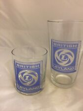 LEYLAND  TRACTOR  BADGE WHISKY &1pt TOUGHNED GLASS