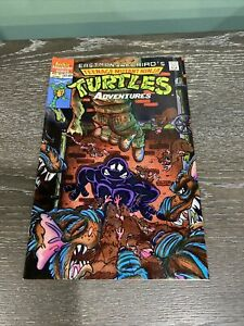 TEENAGE MUTANT NINJA TURTLES ADVENTURES #11 ARCHIE COMIC BOOK  1990