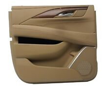Rear LH Driver Side Door Panel Assembly Cadillac Escalade ESV Choccachino OEM