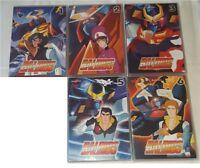 DVD ANIME/MANGA ANNI 80-BALDIOS ROBOT DELLO SPAZIO 1,2,3,5,6-QS COMPLETA  daimos