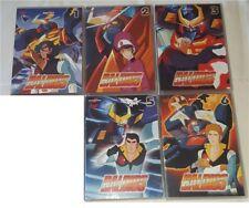 DVD ANIME/MANGA 80-BALDIOS ROBOT 1,2,3,5,6 gotriniton,zambot,daimos,combatter,gx