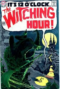 WITCHING HOUR #1 FIRST DC ISSUE SILVER AGE DC COMICS HORROR KEY