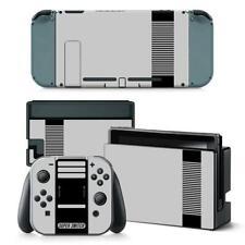 NES Retro Super Switch Nintendo Switch Joy-Con Dock Vinyl Skin Stickers Decals