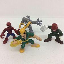 Hasbro Marvel Super Hero Squad Shocker, Spiderman, Iron Man, Iron Fist, & Skull