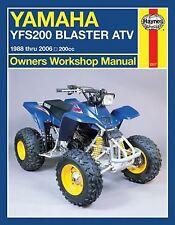Yamaha YFS200 Blaster Quad Haynes Manual