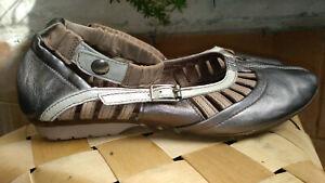 Sandales PATAUGAS cuir p. 38 TRES BON ETAT