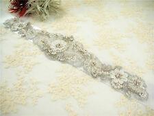 perle cristal Ceinture robe de mariée large Accessoires Mariage couleur au choix