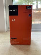 Sony ZEISS Z Sonnar FE 55mm f/1.8 ZA Lens - Black -SEL55F18Z SEL55F18