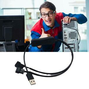 USB 2.0 A Male To 3-Pin/4-Pin Connector Adapter Cable For 5V Computer PC Fan H O
