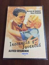 INOCENCIA Y JUVENTUD - DVD MULTIZONA 1-6 - 80 MIN - HITCHCOCK - NEW SEALED NUEVO
