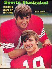 Sports Illustrated 1972 DAVE DON BUCKEY North Carolina State Football NO LABEL
