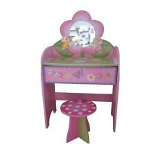 GIRLS PINK DRESSING TABLE VANITY DESK Fairy Princess Bedroom Themed  Furniture B