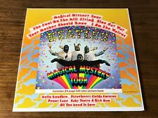 THE  BEATLES MAGICAL MYSTERY TOUR ORIGINAL RAINBOW CAPITOL LABEL WITH PIC BOOK