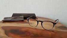 Nuevo Oliver Peoples OV5004 1002 Riley-R Tormenta Gris Redondo Gafas 47-20/145mm