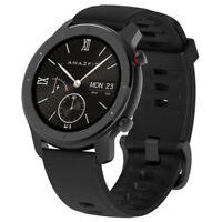 Xiaomi AMAZFIT GTR 42mm Schwarz Smartwatch GPS BT 5ATM Heart rate Sports 1.2Zoll