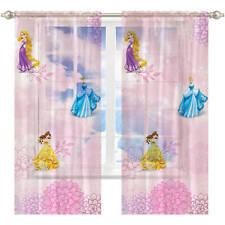 Disney Princess Dancing Gracefully  Girls'  Sheer One (1) Drapery Panel Curtain