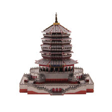 3D Metal Puzzle Leifeng Pagoda Tower History Buidling Assemble Jigsaw Toys