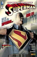 Superman 9-Série 2012-Panini Allemagne-Produit Neuf -