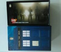 Topps Doctor Who tenth 10th  Dr Adventures limited wideVision 81 card box set.