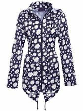 Hood Outdoor Floral Coats & Jackets for Women