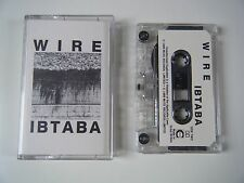 WIRE IBTABA IT'S BEGINNING TO AND BACK AGAIN CASSETTE TAPE 1989 PAPER LABEL MUTE
