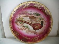 WST Bavaria Germany Cabinet Plate Pheasants