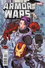 ARMOR WARS #2 1:25 VICTOR IBANEZ VARIANT COVER! MARVEL SECRET WARS NM OR BETTER