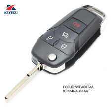 Replacement Flip Remote Key Fob 315MHz for Ford Fusion 2013-2016 N5F-A08TAA