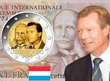 2 euro 2020 Luxembourg Lussembrgo Luxemburg Luxemburgo Henri Orange Nassau